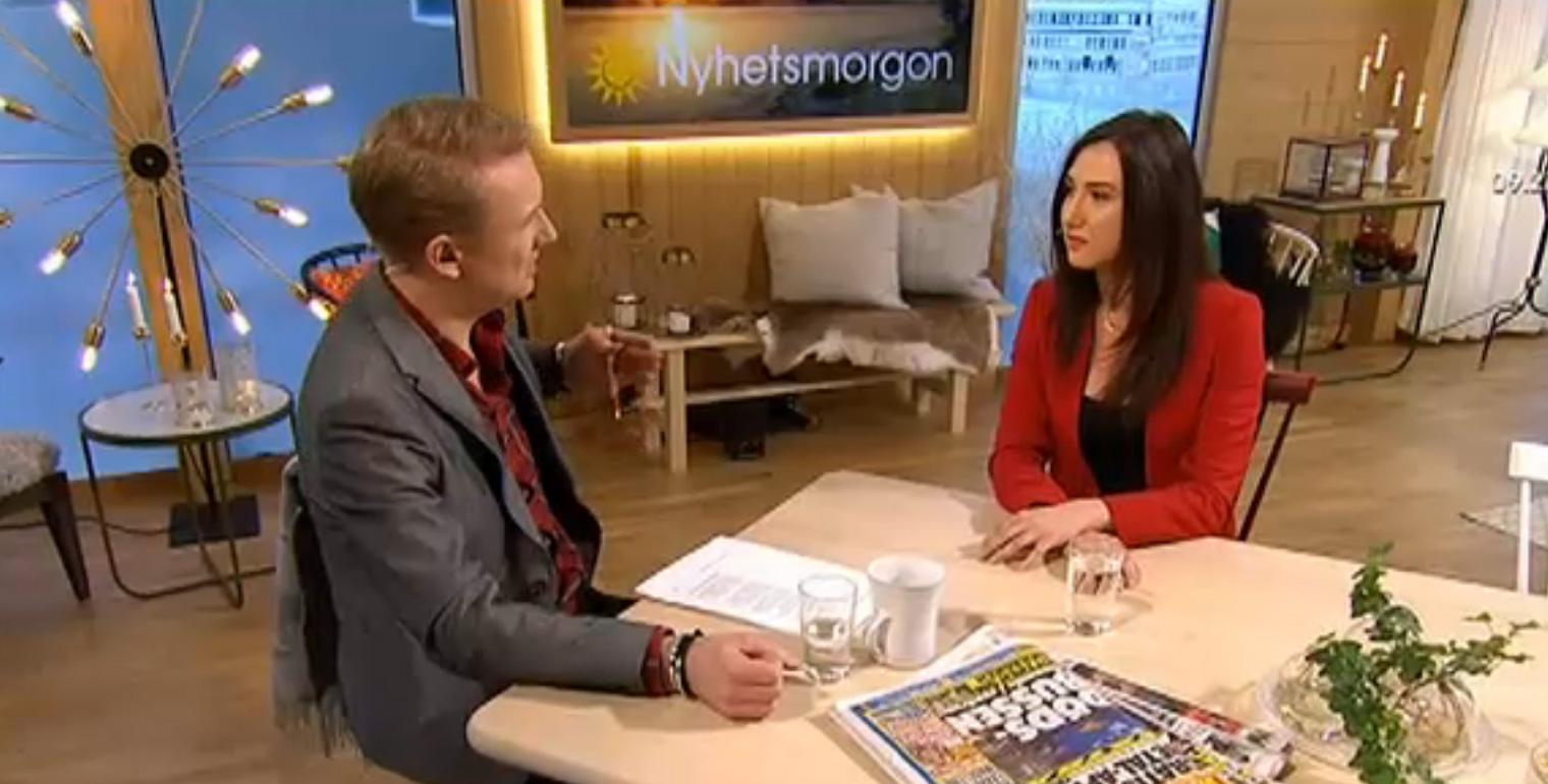Nyhetsmorgon - Gymnasie och Kunskapsminister - AIda Hadzialic